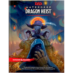 Dungeons and Dragons 5th Edition Waterdeep Dragon Heist